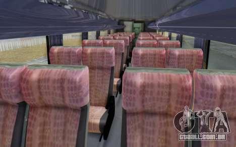 Marcopolo Inforana Bus para GTA San Andreas vista traseira