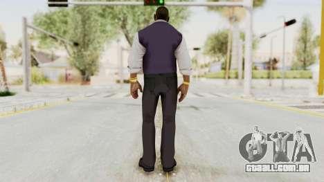 Dead Rising 2 Off The Record TK Coat Less para GTA San Andreas terceira tela