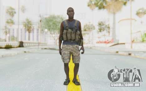 CoD MW3 Africa Militia v2 para GTA San Andreas segunda tela