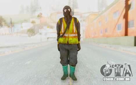 The Division Cleaners - Incinerator para GTA San Andreas segunda tela
