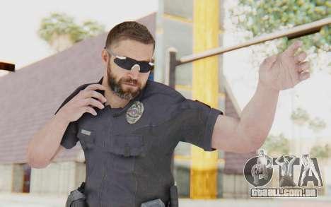 CoD BO2 LAPD v3 para GTA San Andreas