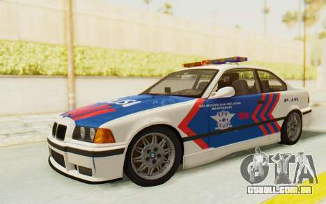 BMW M3 E36 Police Indonesia para GTA San Andreas