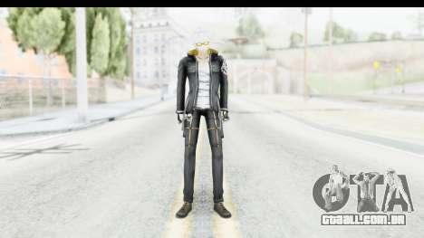 J Skin v1 para GTA San Andreas segunda tela
