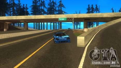 ENB for low PC by SETFIRE para GTA San Andreas segunda tela