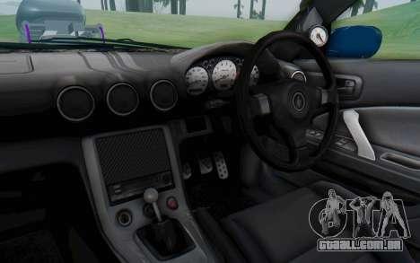 Nissan Silvia S15 Monster Truck para GTA San Andreas vista interior