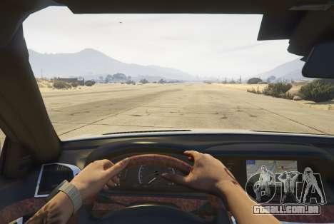 GTA 5 Mercedes-Benz S65 AMG (W221) voltar vista