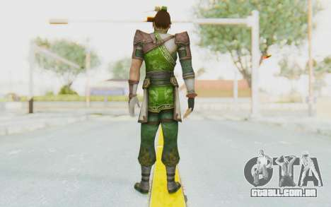 Dynasty Warriors 8 - Guan Su para GTA San Andreas terceira tela