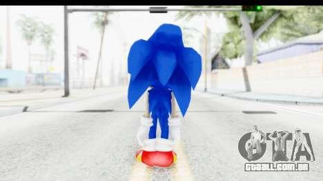 Dreamcast Sonic para GTA San Andreas terceira tela