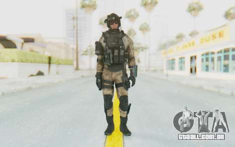 Federation Elite Assault Desert para GTA San Andreas segunda tela