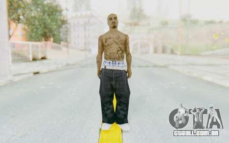 Mexican Skin para GTA San Andreas segunda tela