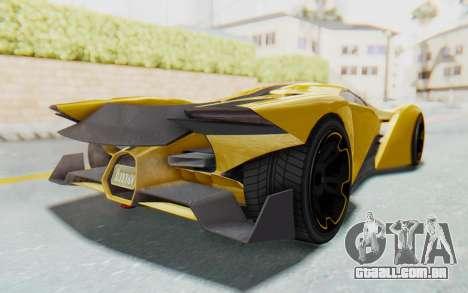 GTA 5 Grotti Prototipo v2 IVF para GTA San Andreas vista direita