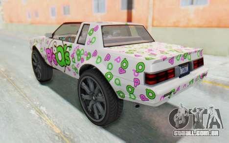 GTA 5 Willard Faction Custom Donk v1 IVF para as rodas de GTA San Andreas