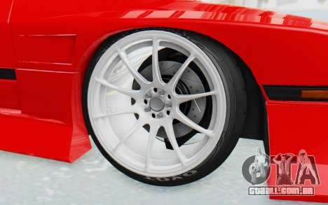 Mazda RX-7 FC3S BN Sport para GTA San Andreas vista interior