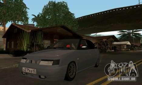 VAZ 2112 GVR para GTA San Andreas esquerda vista
