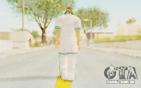 Def Jam Fight For New York - Sean Paul v2 para GTA San Andreas terceira tela