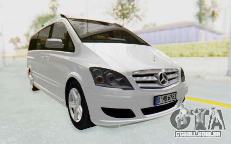 Mercedes-Benz Viano W639 2010 Long Version para GTA San Andreas