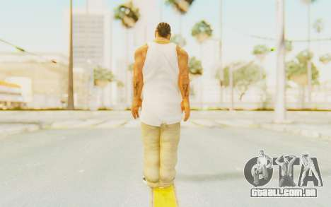 Def Jam Fight For New York - Xzibit para GTA San Andreas terceira tela