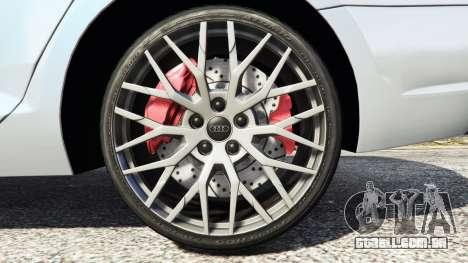 GTA 5 Audi A4 2017 v1.1 vista lateral direita