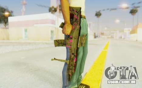ACR CQB Magma Pink para GTA San Andreas terceira tela