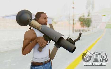 Rocket Launcher from TF2 para GTA San Andreas terceira tela