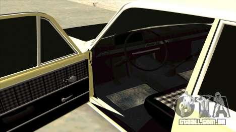 VAZ 21013 para GTA San Andreas traseira esquerda vista