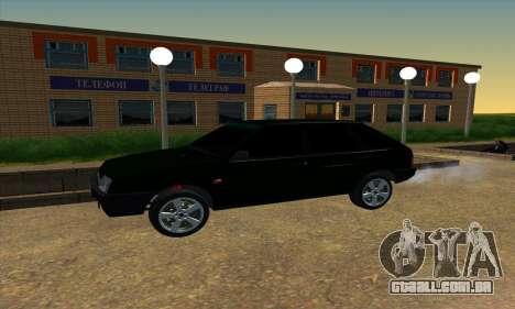 2109 v1.0 para GTA San Andreas vista traseira