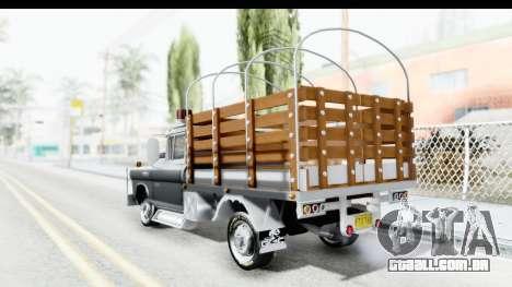 GMC 3100 Diesel para GTA San Andreas esquerda vista