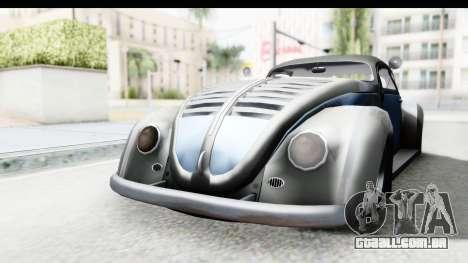 Volkswagen Beetle 1963 Hotrod para GTA San Andreas