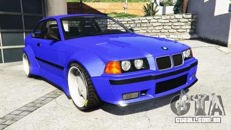 BMW M3 (E36) Street Custom [blue dials] v1.1 para GTA 5