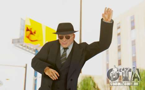 Mafia 2 - Jimmy Vendetta Black Suit para GTA San Andreas