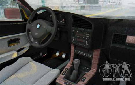 BMW M3 E36 2.5 TDS para vista lateral GTA San Andreas