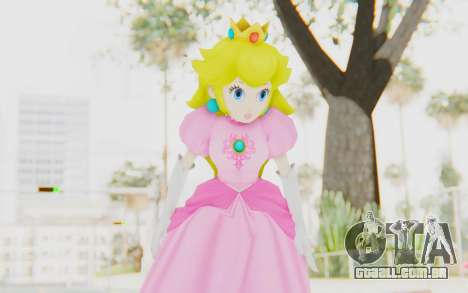 Princess Peach para GTA San Andreas