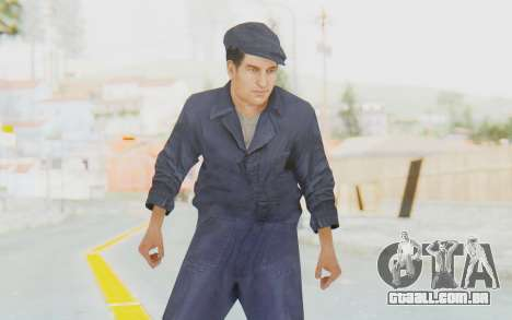 Mafia 2 - Joe Empire Arms Clothes para GTA San Andreas