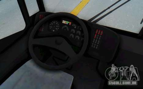 Pylife Bus para vista lateral GTA San Andreas