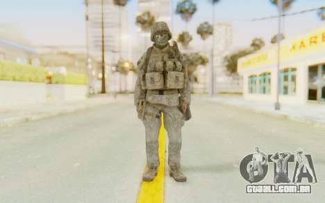 CoD MW2 Ghost Model v3 para GTA San Andreas segunda tela