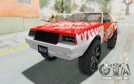 GTA 5 Willard Faction Custom Donk v1 IVF para vista lateral GTA San Andreas