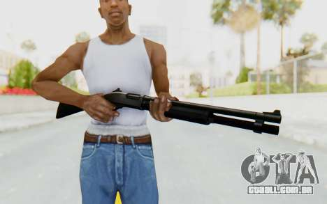 Remington 870 para GTA San Andreas terceira tela