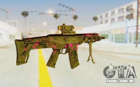 ACR CQB Magma Pink para GTA San Andreas segunda tela