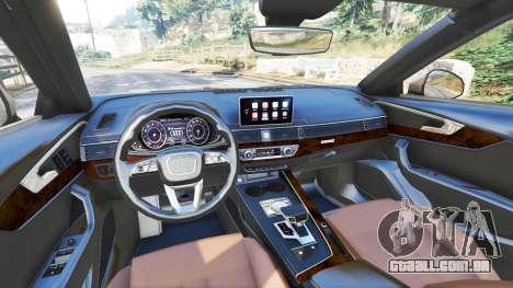 Audi A4 2017 para GTA 5