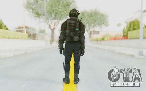 Federation Elite Shotgun Tactical para GTA San Andreas terceira tela