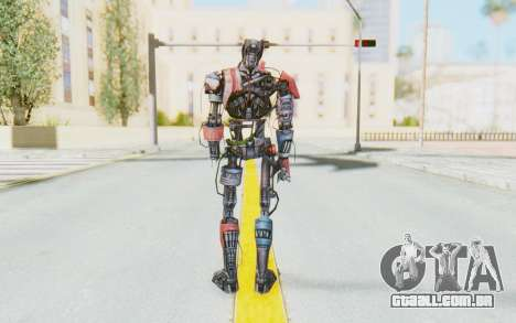 Marvel Future Fight - Ultron Mk1 para GTA San Andreas terceira tela