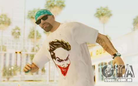 The Joker Skin para GTA San Andreas