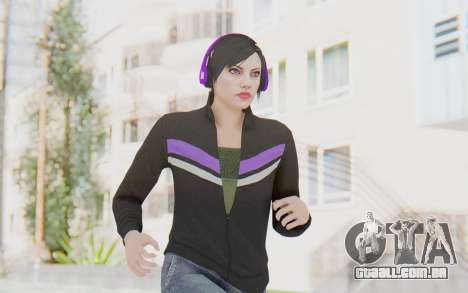 GTA Online Skin Female para GTA San Andreas