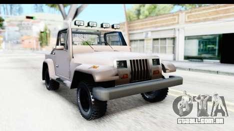 Mesa MAXimum 4x4 para GTA San Andreas