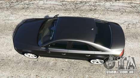 GTA 5 Audi A8 FSI 2010 voltar vista