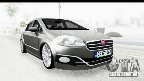 Fiat Linea 2014 para GTA San Andreas