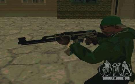 AK-47 Vulcan (SA) para GTA San Andreas quinto tela