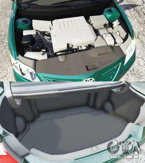 GTA 5 Toyota Camry V40 2008 [stock] vista lateral direita