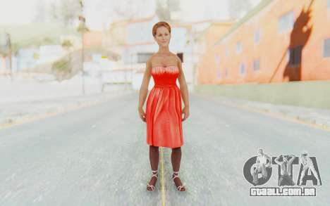 Mafia 2 - Joes Girlfriend para GTA San Andreas segunda tela