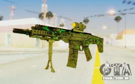 ACR CQB Magma Green para GTA San Andreas segunda tela